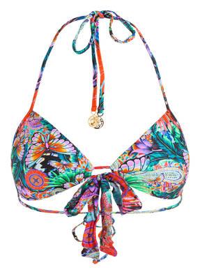 luli fama Neckholder-Bikini-Top VIVA CUBA