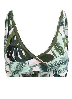 SEAFOLLY Bustier-Bikini-Top PALM BEACH