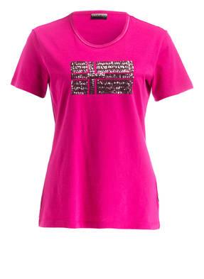 NAPAPIJRI T-Shirt SAS mit Paillettenbesatz