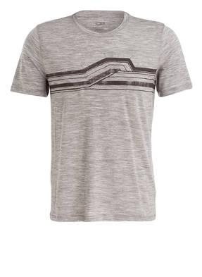 icebreaker T-Shirt TECH LITE CREWE mit Merinowolle-Anteil