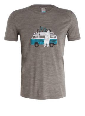 icebreaker T-Shirt SPHERE CREWE mit Merinowolle-Anteil