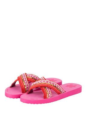 flip*flop Sandalen IBIZA mit Pailetten- und Schmucksteinbesatz