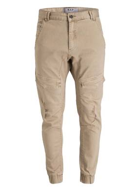 NXP NENA AND PASADENA Cuffed-Cargohose FLIGHT Slim-Fit