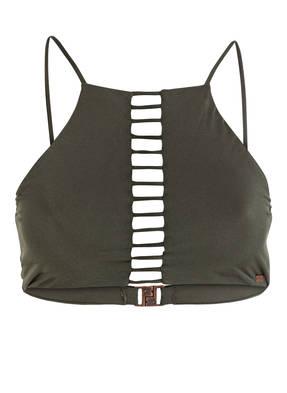 BANANA MOON COUTURE Bustier-Bikini-Top CACAO MILLENIUM