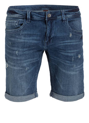 Recycled Art World Jeans-Shorts