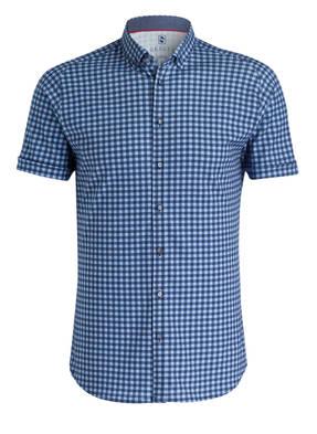 DESOTO Halbarm-Jerseyhemd Slim-Fit