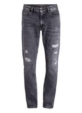 Calvin Klein Jeans Destroyed-Jeans Slim Straight-Fit