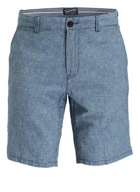 PETROL INDUSTRIES Bermuda-Shorts mit Leinenanteil