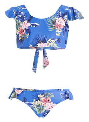 SEAFOLLY Bustier-Bikini-Set RETRO TROPIC