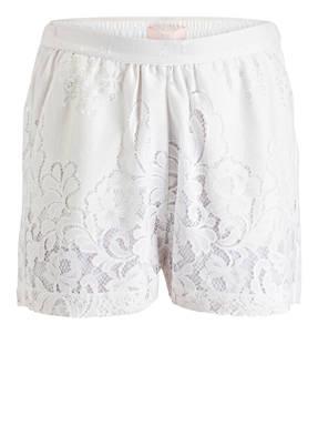 VALÉRIE KHALFON Shorts aus Häkelspitze
