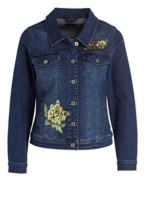 DARLING HARBOUR Jeansjacke mit Patches