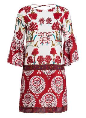 KALA Fashion Seidenkleid mit Schnürung