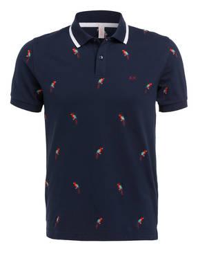 SUN68 Piqué-Poloshirt