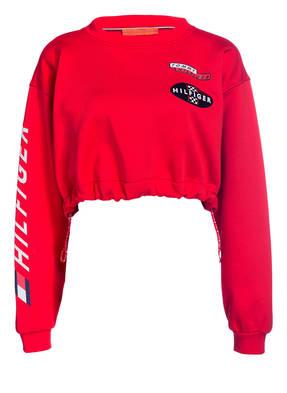 HILFIGER COLLECTION Cropped-Sweatshirt