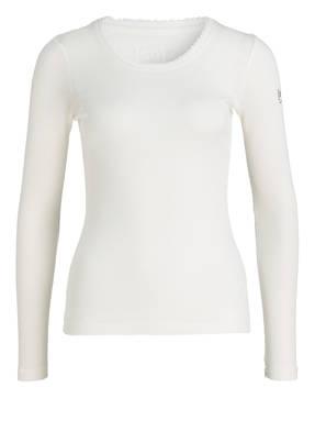 super.natural Funktionswäsche-Shirt SCARLETT mit Merinowolle-Anteil