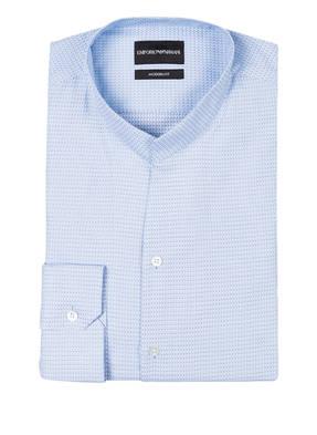 EMPORIO ARMANI Hemd Modern-Fit mit Stehkragen