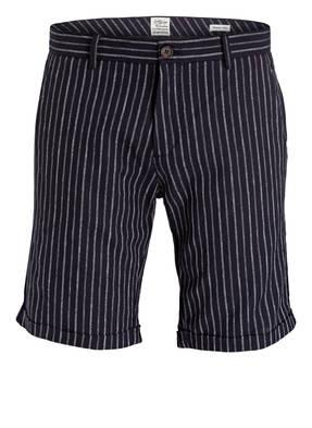 DSTREZZED Shorts mit Leinenanteil