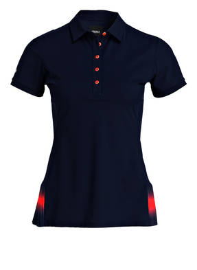 COLMAR Poloshirt REVENGE mit Plissee-Einsätzen