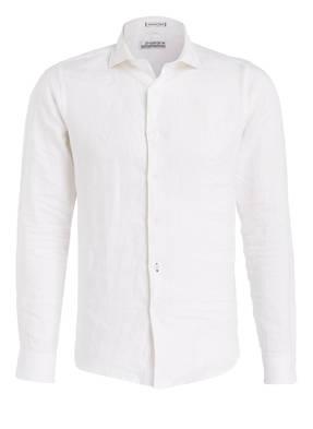 DSTREZZED Leinenhemd Slim-Fit