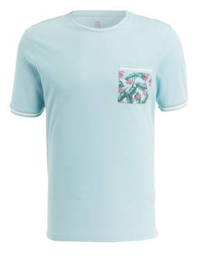 COLOURS & SONS T-Shirt in Piqué-Qualität