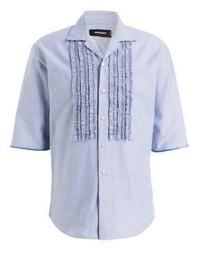 DSQUARED2 Halbarm-Resorthemd Regular Fit