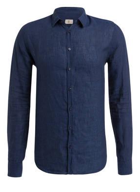 Q1 Manufaktur Leinenhemd STEVE Slim Fit