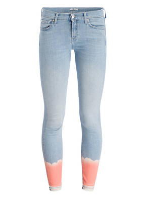7 for all mankind Jeans THE SKINNY CROP UNROLLED