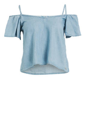 Guess Off-Shoulder-Bluse TRINITY
