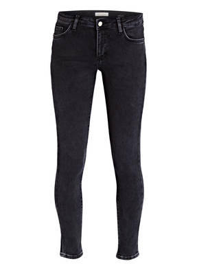 rich&royal 7/8-Jeans BLACK SATIN