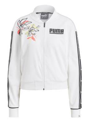 PUMA Sweatjacke FLOWER