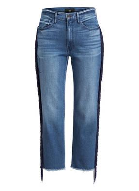 3x1 7/8-Jeans W3 mit Fransen
