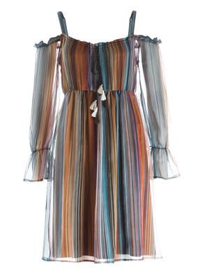 ana alcazar Off-Shoulder-Kleid