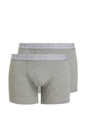 Ermenegildo Zegna 2er-Pack Boxershorts