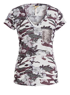 Damen T-Shirt - Foxy grün Key Largo AdUlGSj8Vf