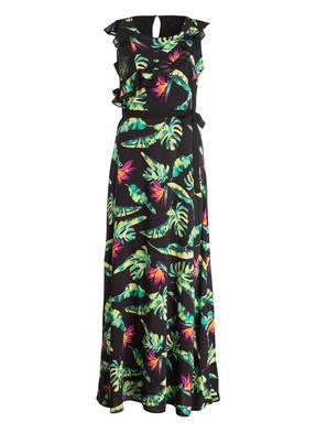 comma Abendkleid mit Volants