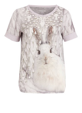 MARCCAIN T-Shirt mit Materialmix