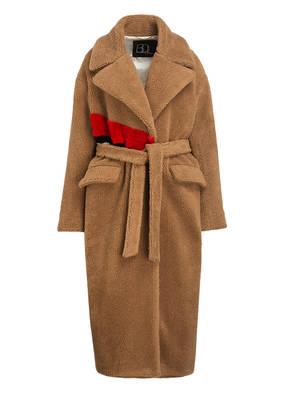 BAZAR deluxe Mantel mit Teddyfell