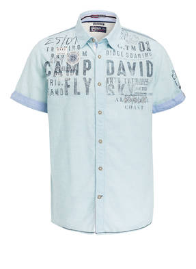 CAMP DAVID Halbarm-Hemd Regular-Fit