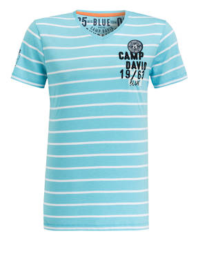 CAMP DAVID T-Shirt SKY SAILOR