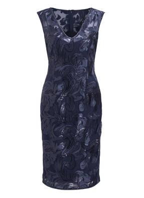 ADRIANNA PAPELL Kleid mit Paillettenbesatz