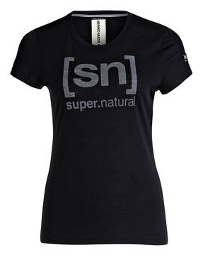 super.natural T-Shirt ESSENTIAL I.D. mit Merinowolle-Anteil