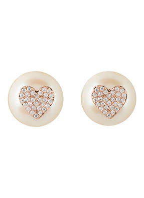 kate spade new york Ohrstecker PAVE HEART