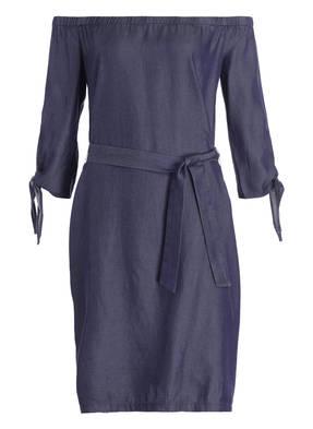 comma Off-Shoulder-Kleid