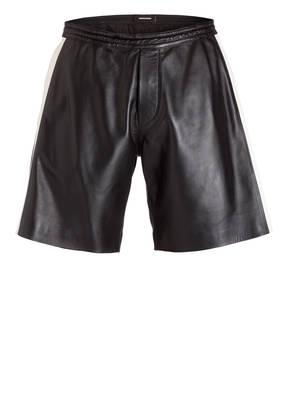 DSQUARED2 Shorts aus Leder