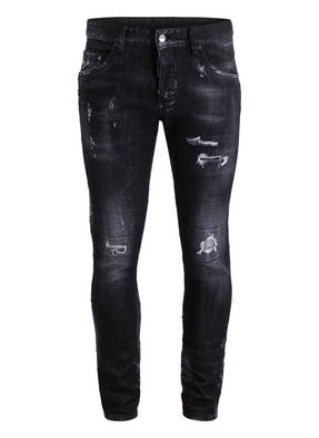 DSQUARED2 Destroyed-Jeans SKATER Tapered-Fit