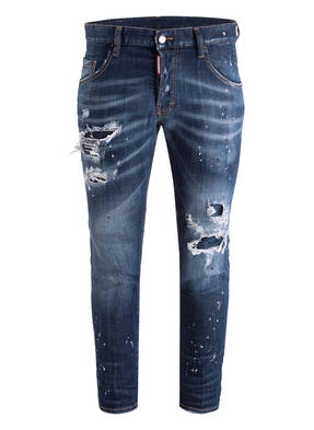 DSQUARED2 Destroyed-Jeans SKATER Slim-Fit