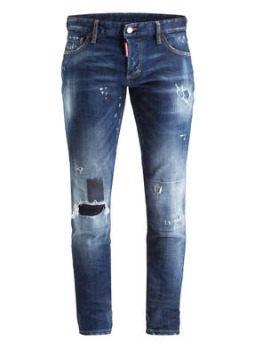 DSQUARED2 Destroyed-Jeans TOPPA Slim Fit