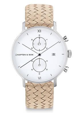 KAPTEN & SON Armbanduhr CHRONO