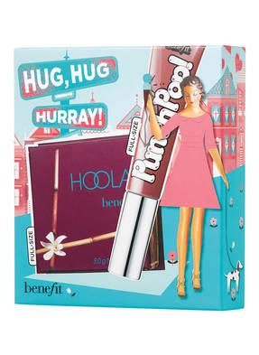 benefit HUG, HUG HURRAY!
