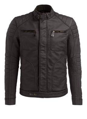 BELSTAFF Jacke NEW WEYBRIDGE in Lederoptik